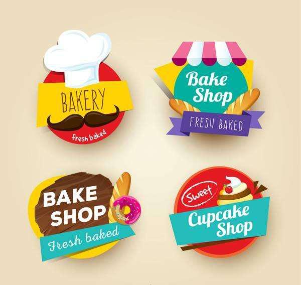 面包蛋糕类标签