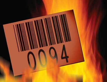 耐600℃-1280℃ 钢铁标签